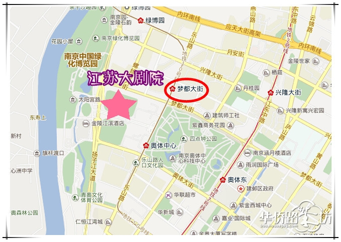 榆树馆社区地图