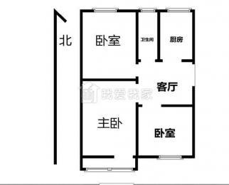 新上凤凰庄 汉中门大街 全新精装三室黄金2楼 看房随时 好