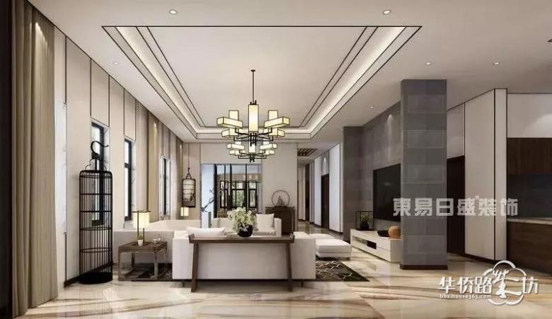 新中式 传承传统中式风格的精髓 还原了如诗如画的中国风