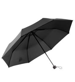 素色三折晴雨伞