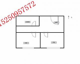 南航旁托乐嘉 精装两房 可居家可同事合租 性价比高 看房随时