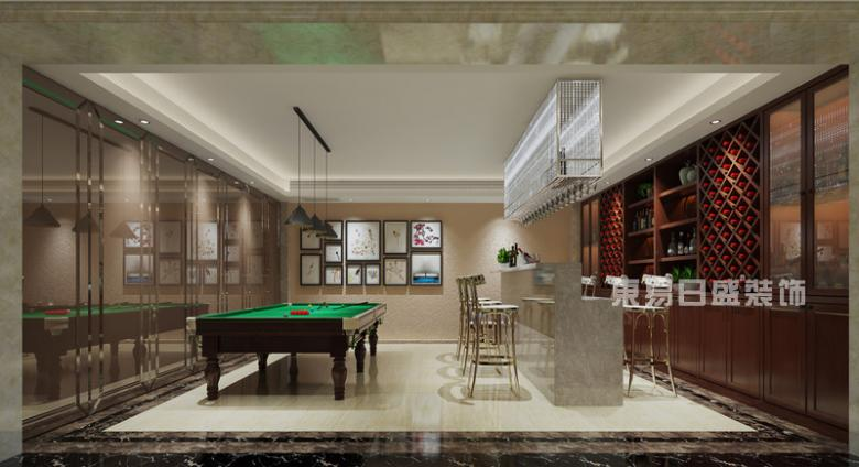 山河水360平现代新中式风格 古典的低调与奢华