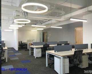 新城科技园 信安大厦 全新精装含设施275平 电梯口