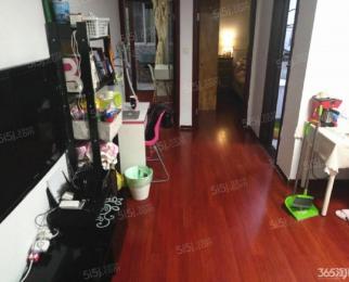 南京南站 秦淮汇景家园豪装两房带地暖 拎包入住 全新家具