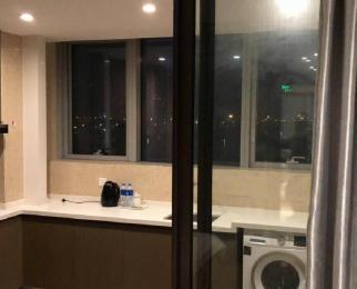 奥体 升龙汇金中心 豪装单身公寓真图实价 带燃气 有钥匙