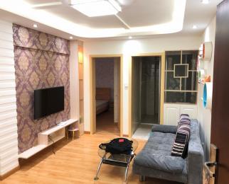 百家湖商圈 双地铁 国际公寓 精装2房 看房方便 急租