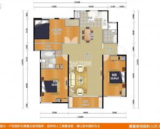同曦鸣城艺术家园4室2厅2卫150.8平方产权房豪华装