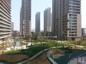 广视花园实景图