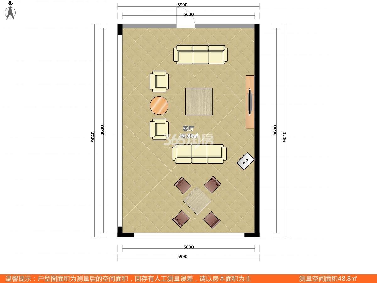 鼓楼区华侨路中山路99号0室0厅户型图