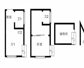 奥体金马郦城 碧瑶花园旁 近地铁交通便利 精装单室套
