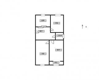 三牌楼 广东路 和会街 虹桥新模范马路 西柏果园 精装大两室两厅