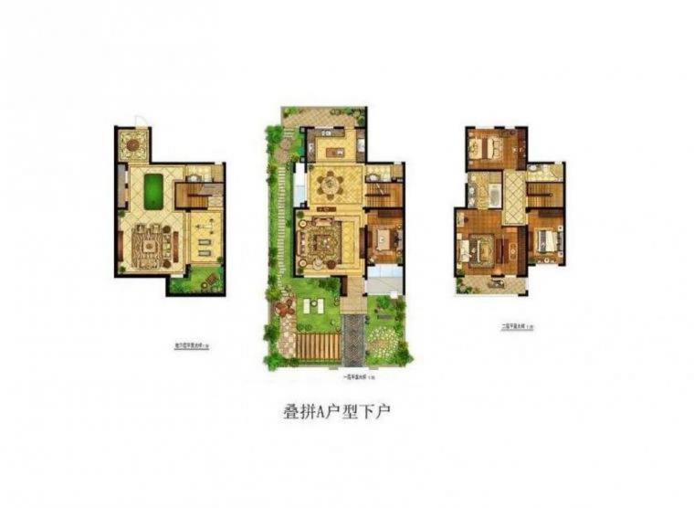 银城长岛观澜叠加别墅 250平自带大院子有地下室