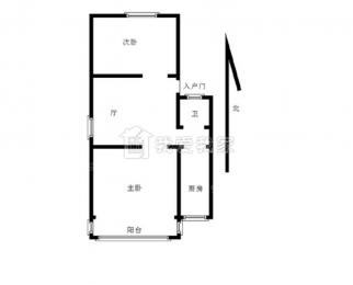 凤凰西街 云锦路地铁口 精装两房 拎包入住 设施齐全 不临街 急租