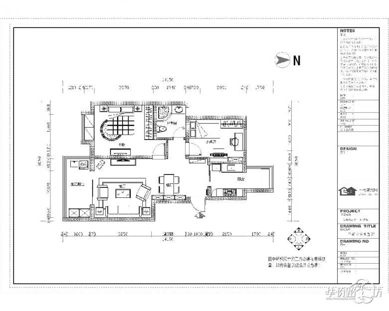 善水湾项目面积:89平方米户型结构:两室一厅设 计 师:马晓薇设计风格