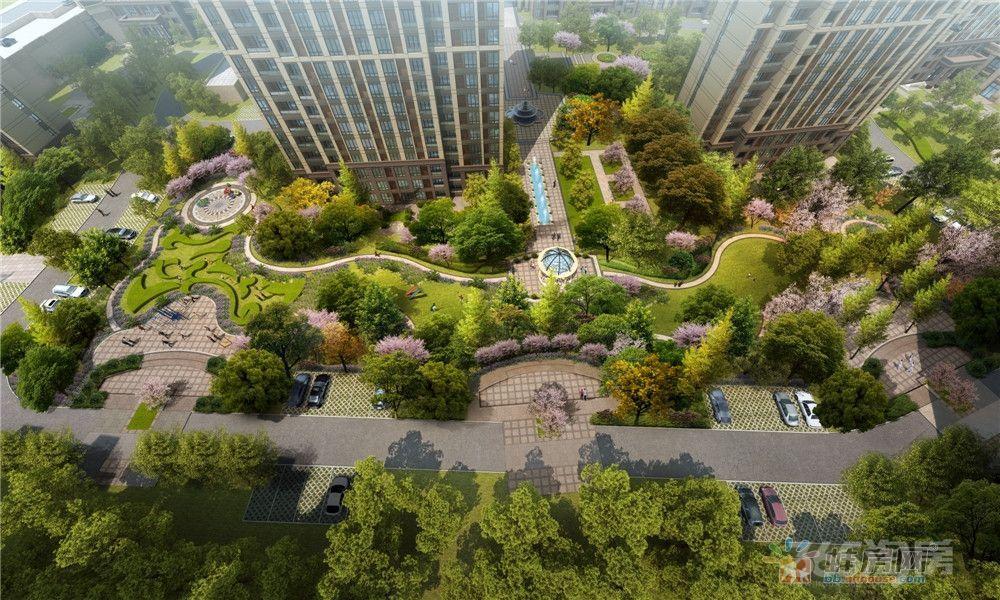 新时代地产力荐雪华中央国际精装全配公寓