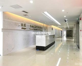苏宁慧谷 南半层1213平 高区江景房 电梯口 大门头 已空置