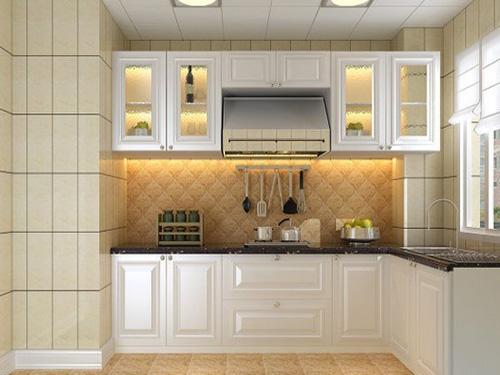 欧式古典复古风格之厨房设计图赏