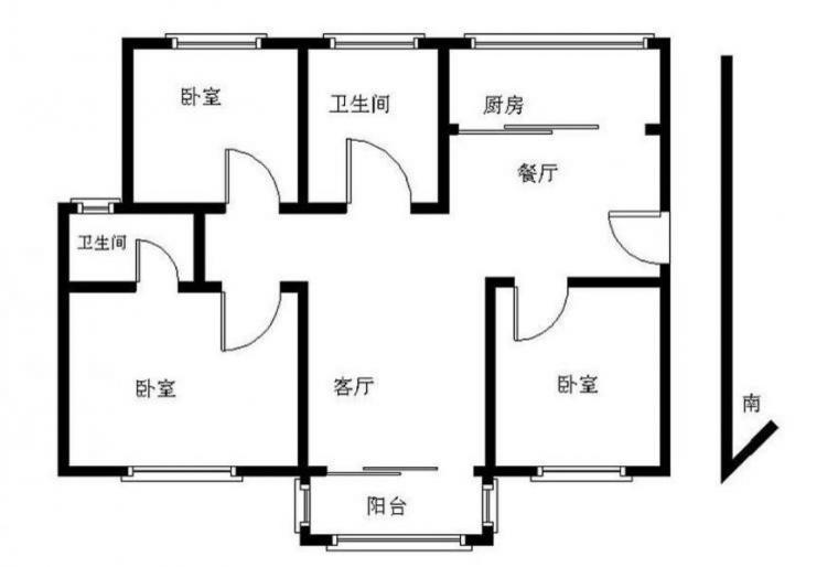【天印大道 莱茵东郡 精装三房 黄金楼层_南京江宁区