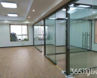 急租新世界百货楼上办公室精装修得房率高全新玻璃隔断格