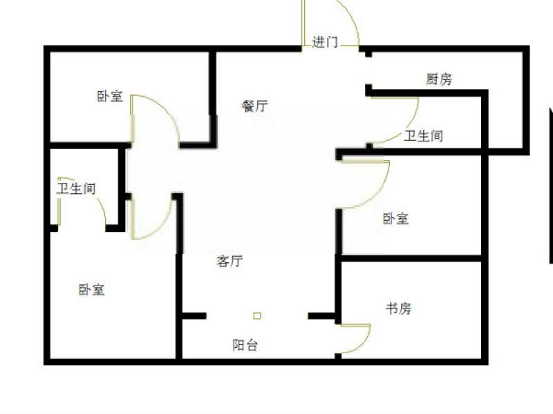 鼓楼区湖南路颐和商厦0室0厅户型图