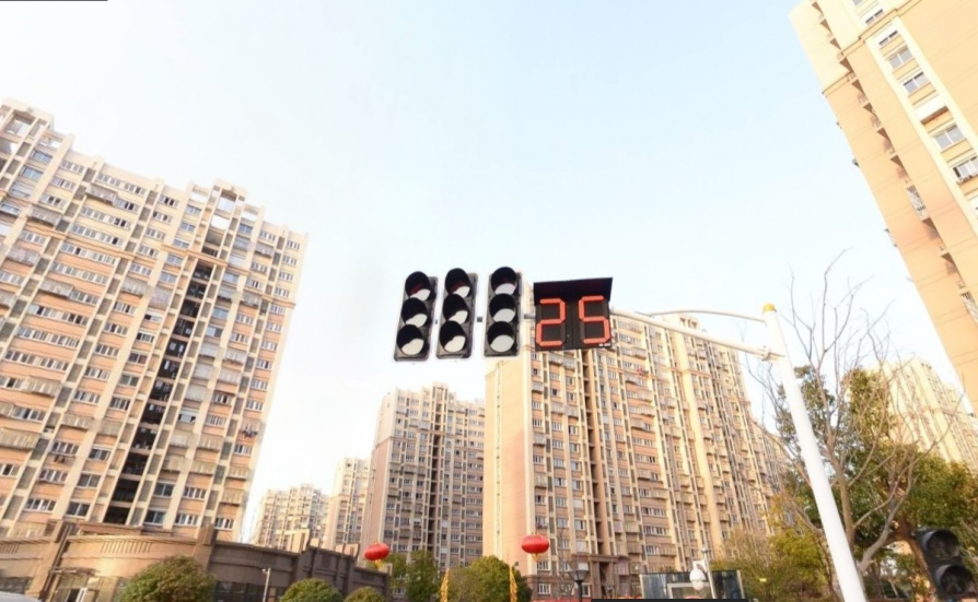花港幸福城金桂园3室2厅1卫90平米整租精装