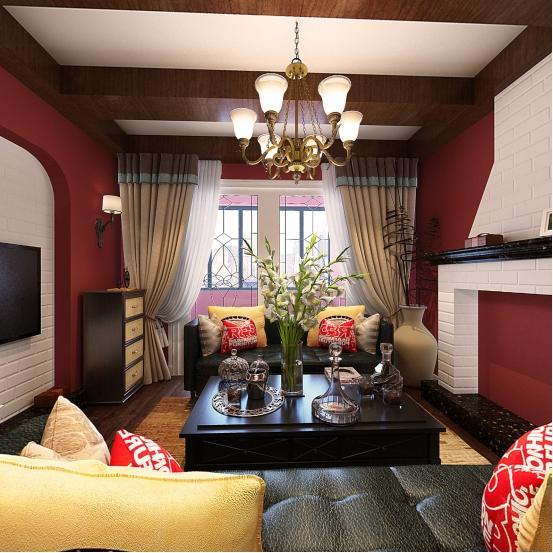 【装修案例】青秀城88平三室两厅一厨一卫户型解析