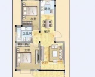 尧化门 佳邻美居 精装两室两厅 南北通透 楼层好 性价比高急