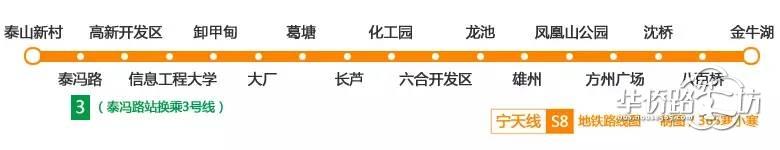 桥北火了!泰冯路将建江北地铁新中心!(最新猛料)