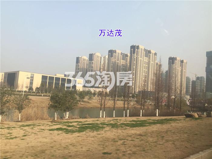 """【万达茂成长记25】二期项目已经完成外部建设,4号线已经开通,万达迎来""""双地铁""""时代!"""