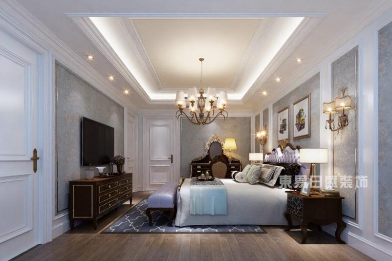 美式乡村卧室装修案例