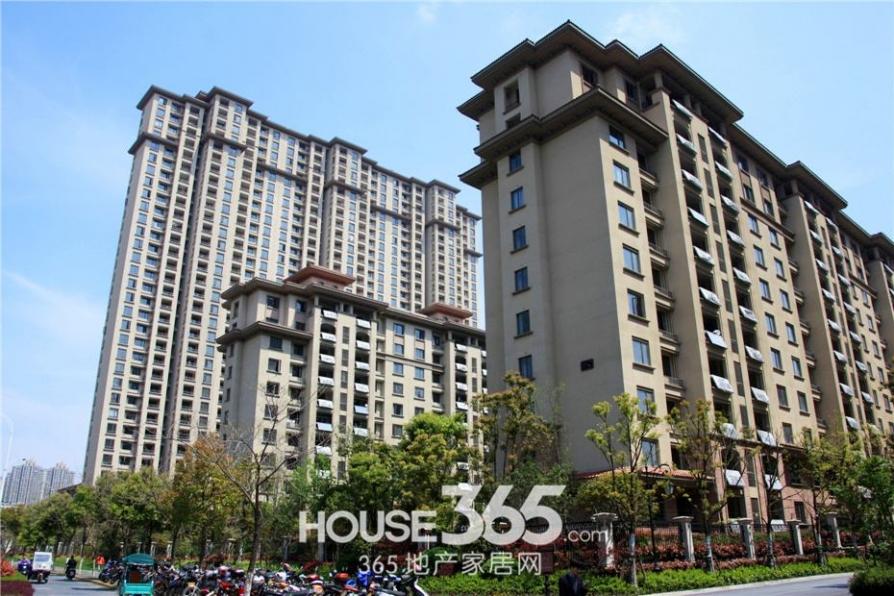 金域华府精装两房 高楼层 视野开阔采光足 拎包入住 包物业