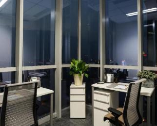 河西CBD新地中心 提供精装修服务室办公室出租 可注册 租