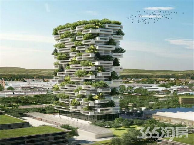 亚洲第1垂直森林 明发财富中心 长江隧道口 地铁口 民用水电