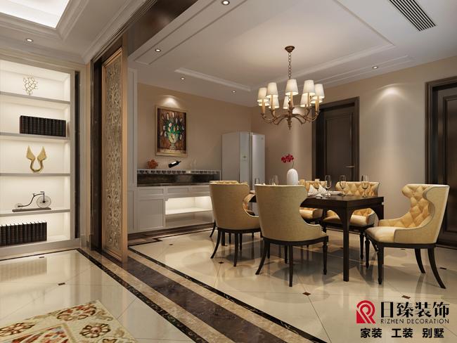 新古典装修15万半包260平方别墅