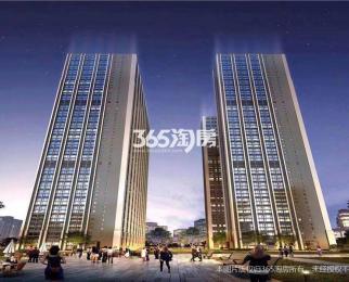 东大九龙湖站 3号地铁口 融信城市之窗 48米复式挑高公寓
