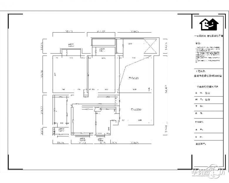 金地自在城100平三房两厅简约装修——淡蓝色,小清新,就喜欢这种范!