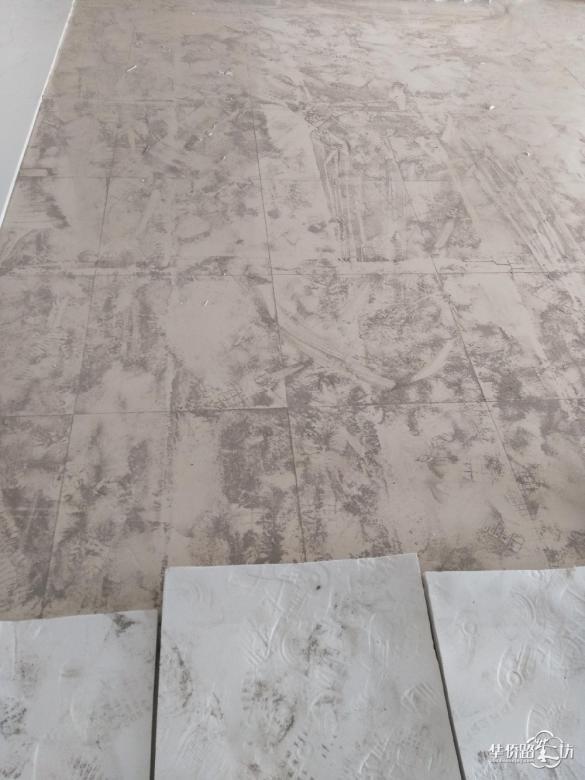 传说中南师大办的幼儿园装修,地板用的三无产品?