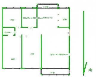 有钥匙 欧陆经典花园 地铁口 精装修 3室2厅2卫 边户 价格可谈