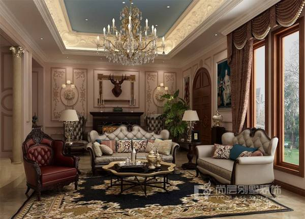 【尚层装饰】欧式风格别墅装修大概需要多少钱?