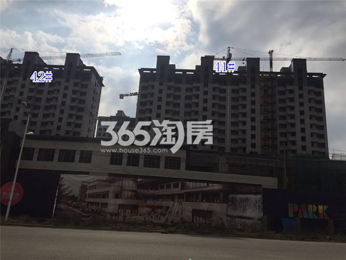 【跑盘贴】高科荣境2月探盘:桂山堂外立面
