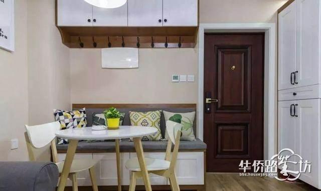 55平小戶型裝修很驚艷,客廳沒窗戶被完美解決