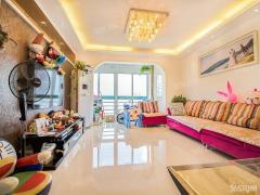 河西 奥体 苏建豪庭 婚装三房 业主诚售 随时看房 适合居家