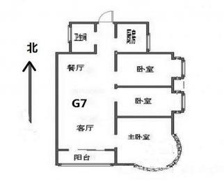 明发滨江新城三期 过江3号 满5年 低价三房 房东换房急售