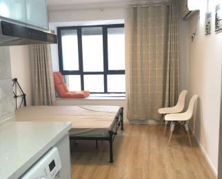 国际公寓 精装单室套 采光极好 景观楼层 看房随时