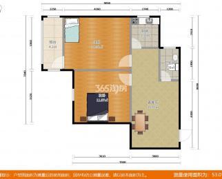 浦东村2室2厅1卫70平米2008年产权房精装
