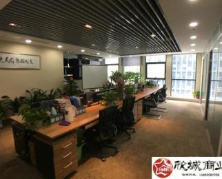 河西万达广场 豪华装修 采光视野好 稀缺房源 低价急租 全