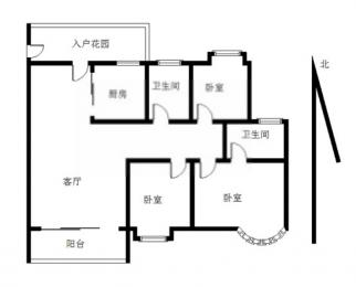 奥体碧瑶花园 金马郦城旁 精装三房南北通透 万科物业 拎包入住
