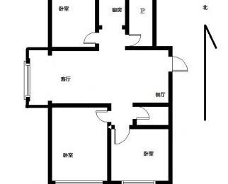正泰花苑 精装 高楼层采光好 学区可用 地铁口