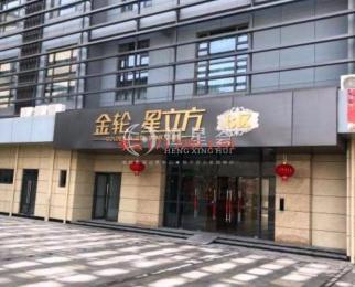 南京南站北广场 金轮星立方全新精装办公室 低价招租