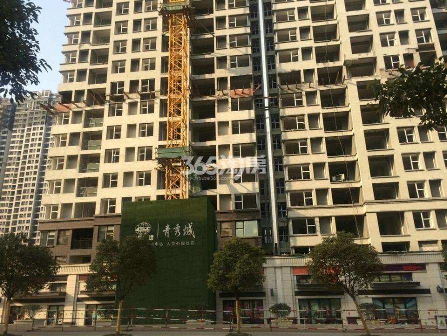南京栖霞青秀城3室2厅2卫123.68平方产权房毛坯